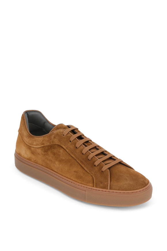 To Boot New York Marshall Sigaro Brown Suede Sneaker