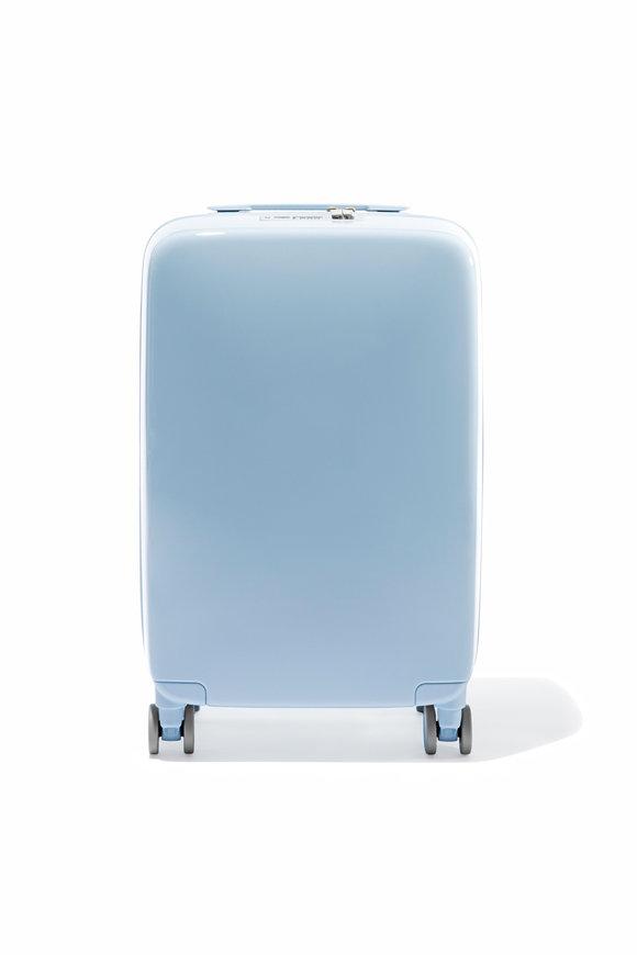 Raden A22 Light Blue Gloss Smart Carry On