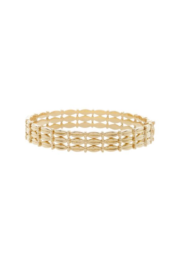 Temple St. Clair 18K Yellow Gold Diamond Vigna Bracelet