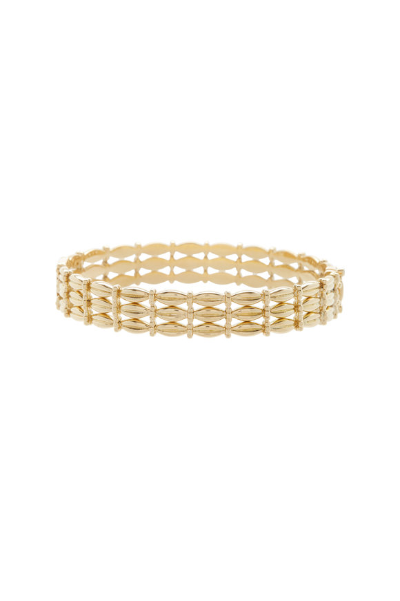 Temple St. Clair 18K Yellow Gold Diamond Vigna Bracelet