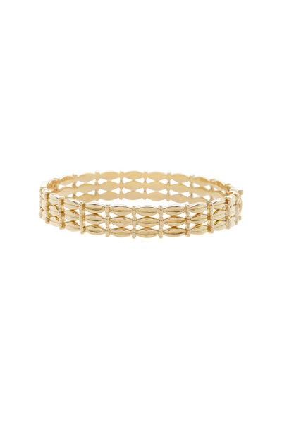 Temple St. Clair - 18K Yellow Gold Diamond Vigna Bracelet
