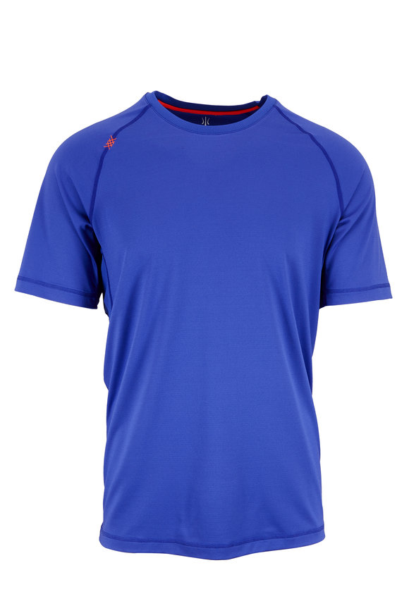 Rhone Apparel Scout Clematis Blue Performance T-Shirt
