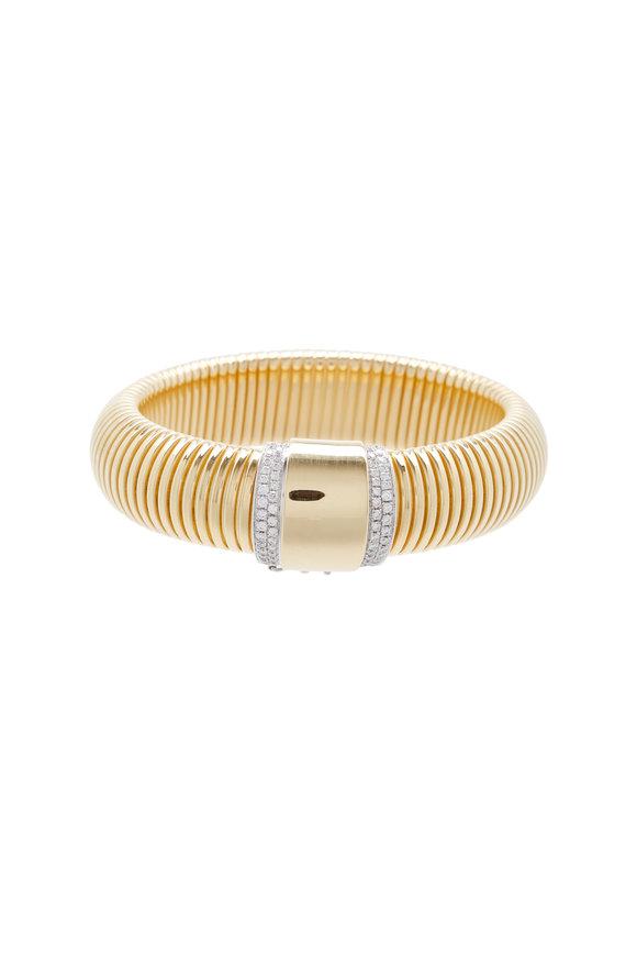 Alberto Milani 18K Yellow Gold Diamond Bracelet