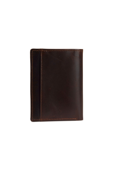 Moore & Giles - Brown Leather Wallet