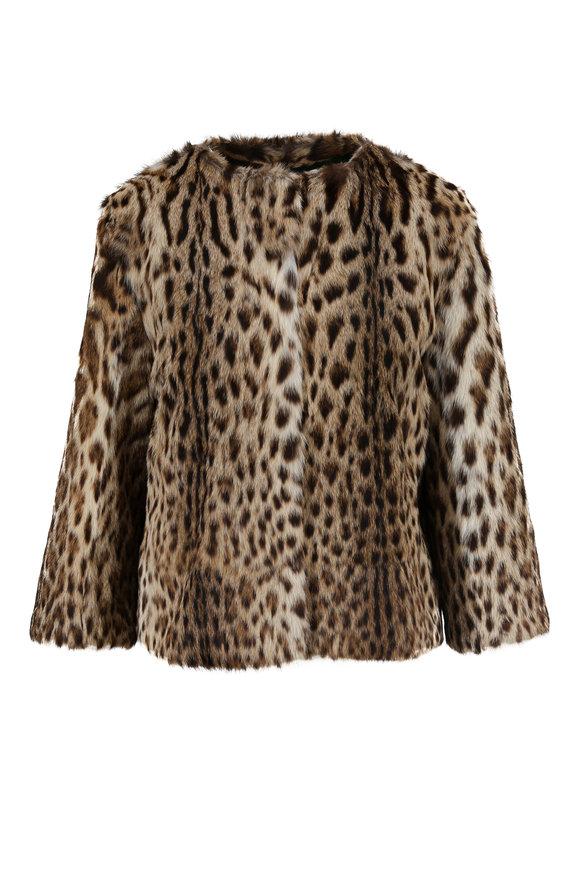 Oscar de la Renta Furs Natural Lippi Fur Jacket