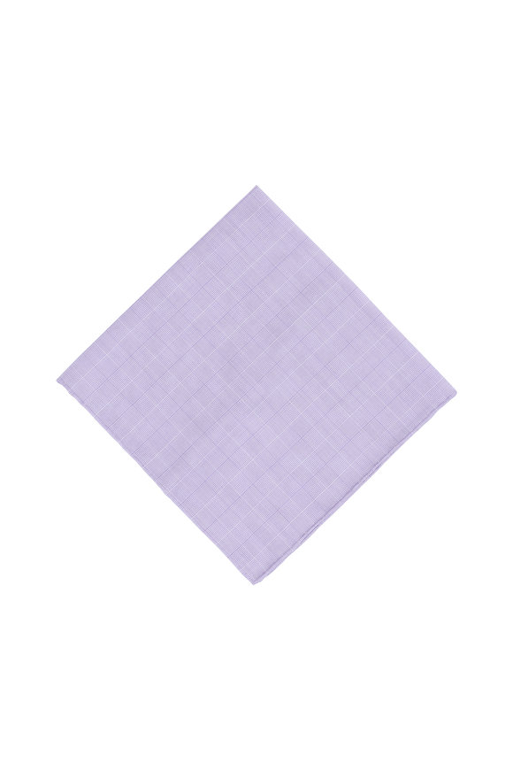 Simonnot-Godard Purple Pocket Square