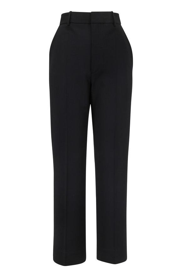 Helmut Lang Black Textured Suiting Pant