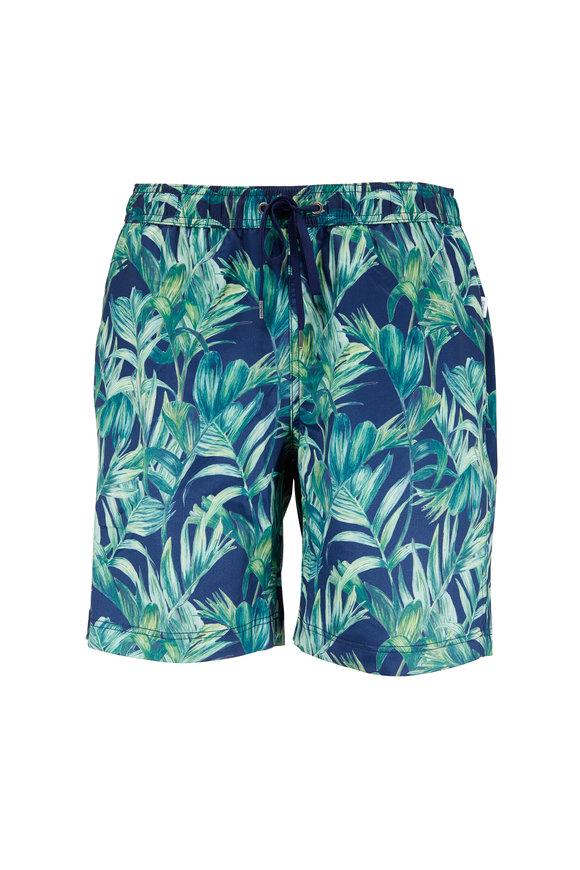 Onia Charles Dutch Blue Palma Del Mar Swim Trunks