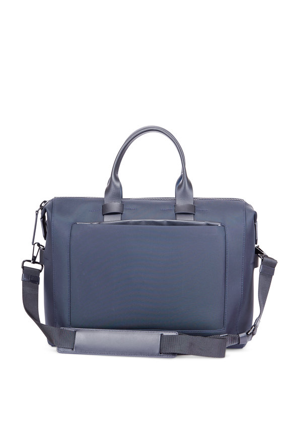 Troubadour Navy Blue Nylon 24-Hour Bag