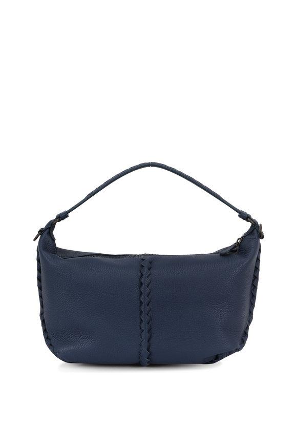 Bottega Veneta Denim Blue Cervo New Small Hobo Bag