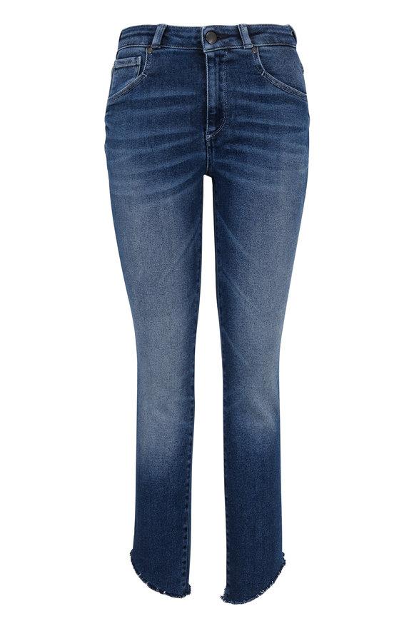Acynetic Denim Loren Mid-Rise Cigarette Jean