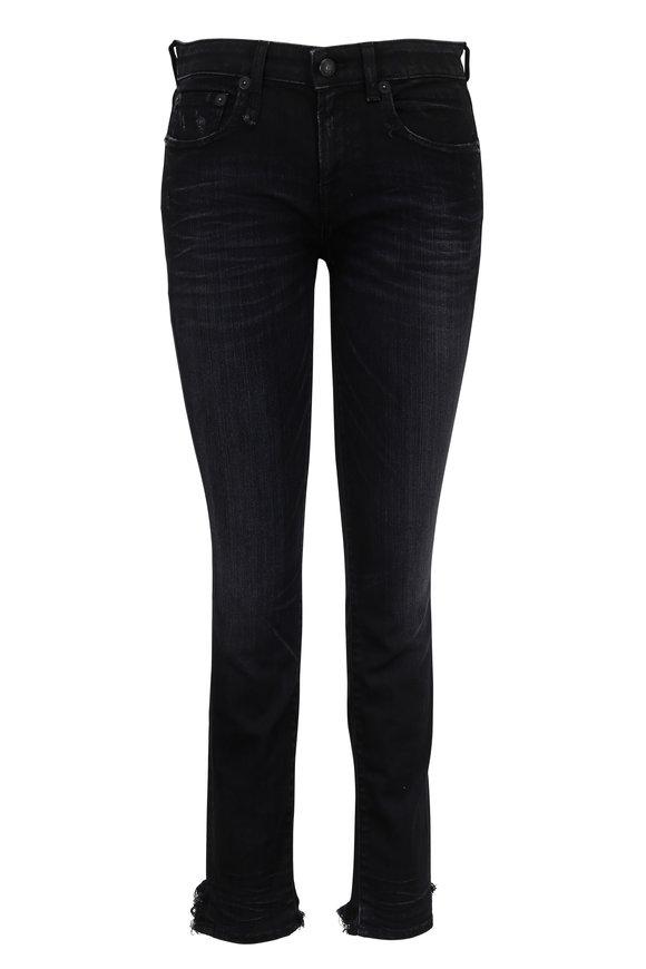 R13 Alison Skinny Step Hem Cropped Jean