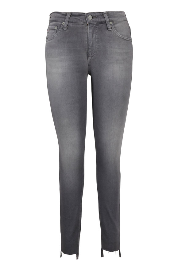 AG - Adriano Goldschmied The Farrah High-Rise Ankle Skinny Jean