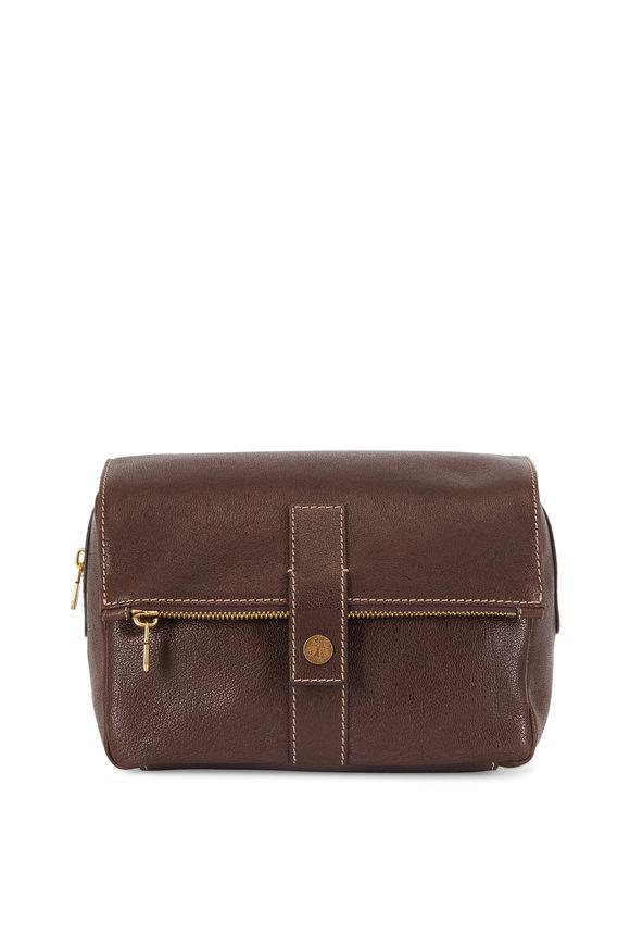 Brunello Cucinelli Brown Leather Dobb Kit