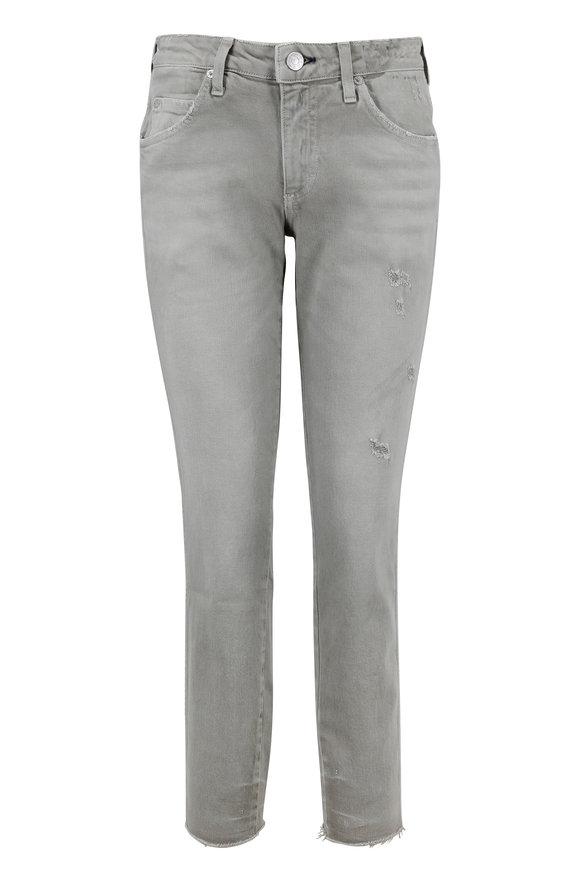 Amo Stix Sage Mid-Rise Crop Jean