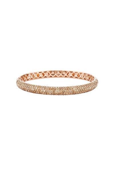 Kwiat - Pink Gold & Brown Diamond Stackable Bracelet
