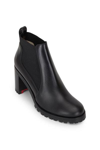 Christian Louboutin - Marchacroche Black Jodphur Ankle Boot, 70mm