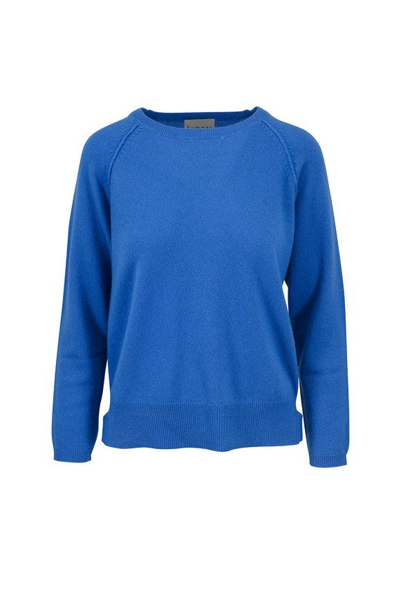 Jumper 1234 Blue Cashmere Crewneck Sweater