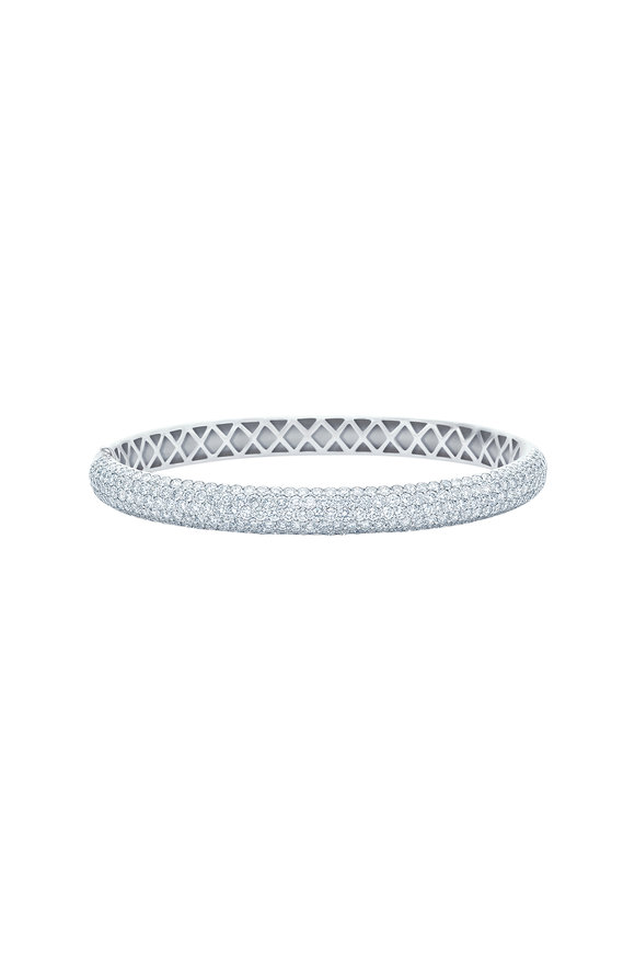 Kwiat 18K White Gold Diamond Stackable Bracelet