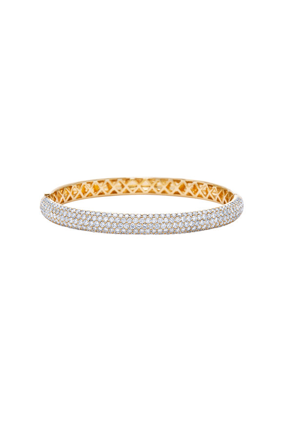 Kwiat 18K Yellow Gold Diamond Stackable Bracelet