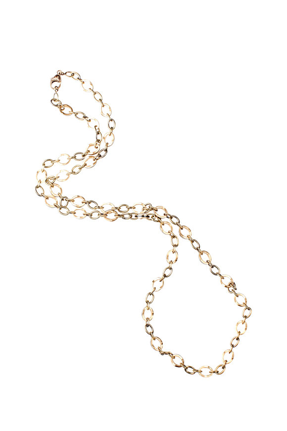 Sylva & Cie 18K Yellow Gold Link Necklace