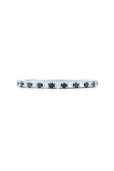 Kwiat - 18K White Gold Stackable Ring