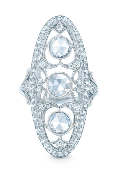 Kwiat - Vintage Collection White Gold & Diamond Ring