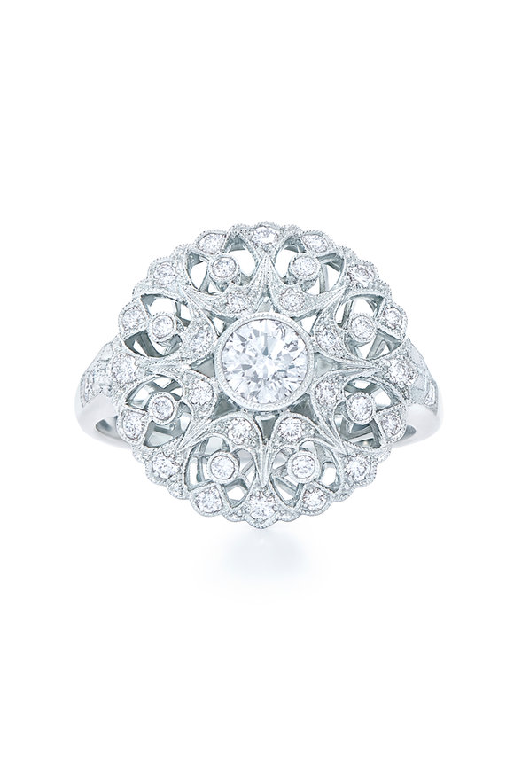 Kwiat Splendor Collection White Gold & Diamond Ring