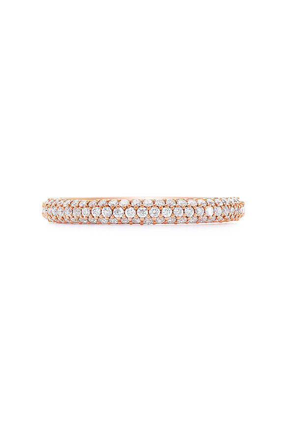 Kwiat 18K Rose Gold Diamond Moonlight Band