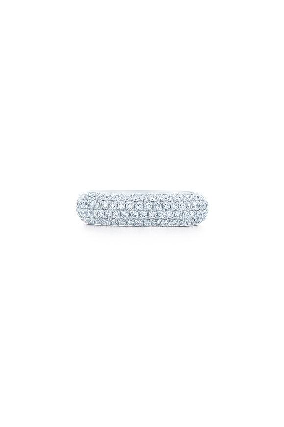 Kwiat 18K White Gold Diamond Moonlight Ring