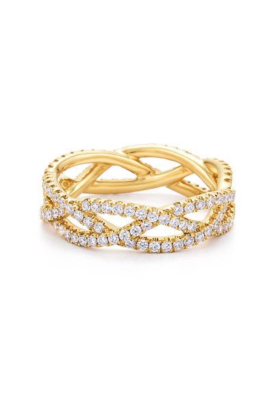 Kwiat - 18K Yellow Gold Stackable Ring