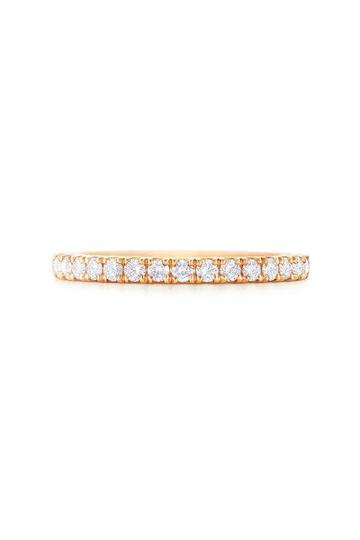 Kwiat - Yellow Gold & Diamond Stackable Ring
