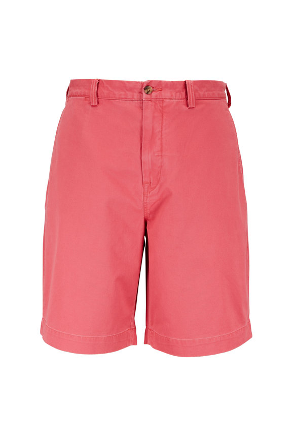 Polo Ralph Lauren Nantucket Red Cotton Classic Fit Shorts