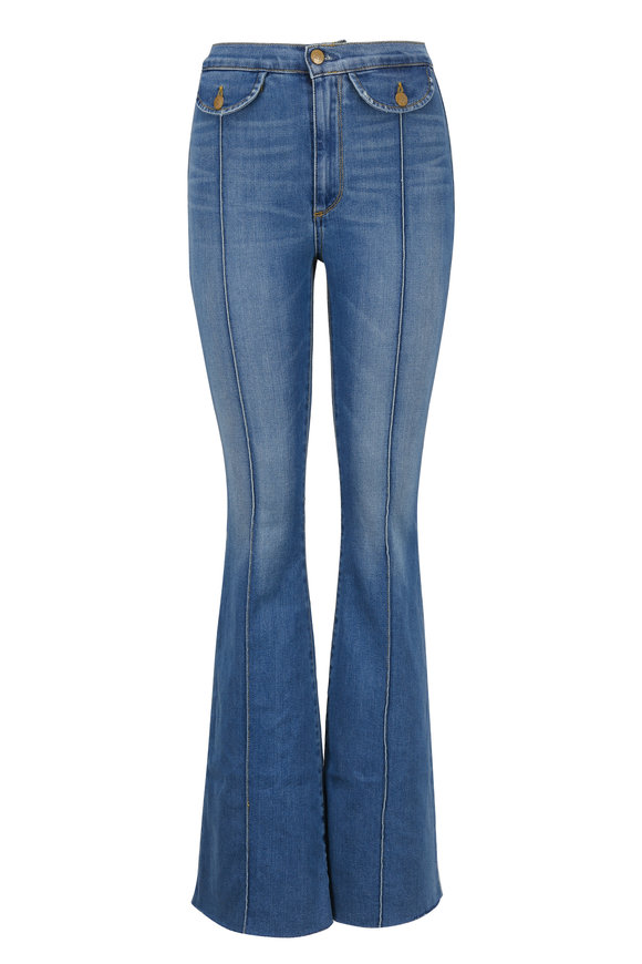 Acynetic Denim Roxy High-Rise Flare Jean