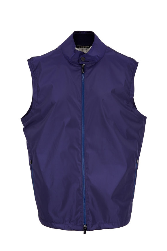 Z Zegna Blue Tech Performance Vest