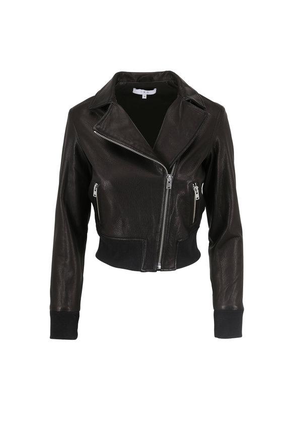 IRO Kalore Black Leather Jacket