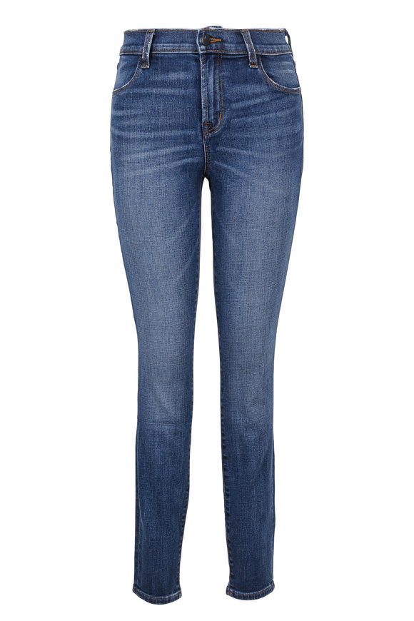 J Brand Maria High-Rise Five Pocket Skinny Jean