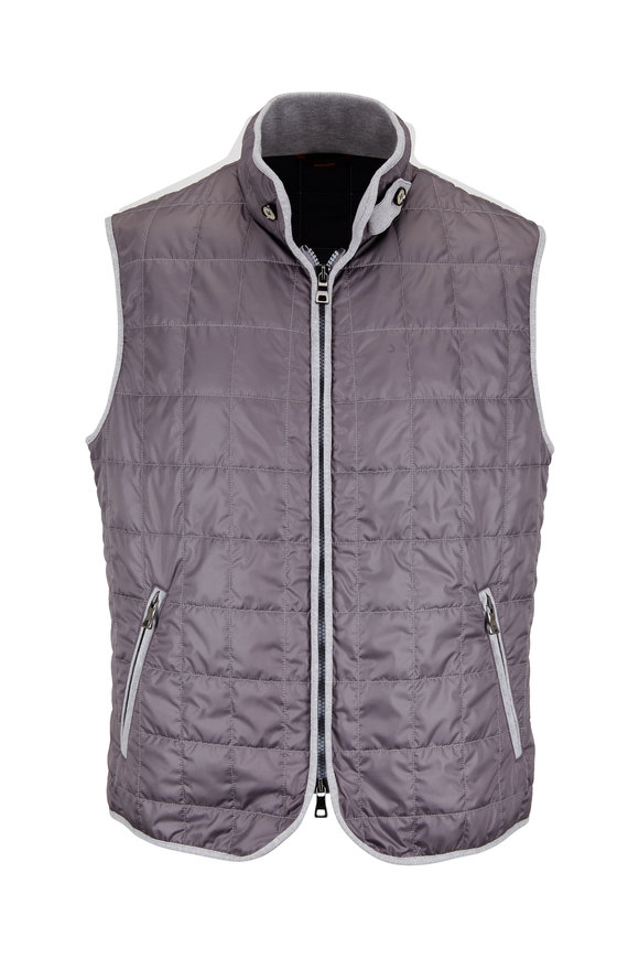 Waterville Silver Box Quilted Vest
