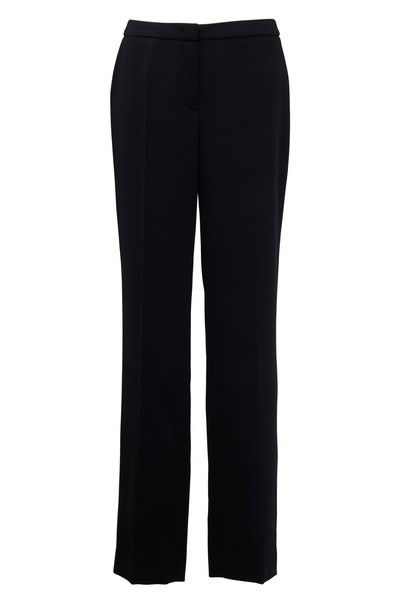 Escada - Black Virgin Wool Pants
