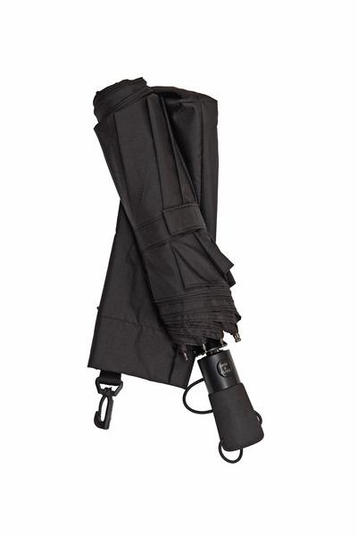 Shedrain - Windpro Black Vented Jumbo Compact Umbrella