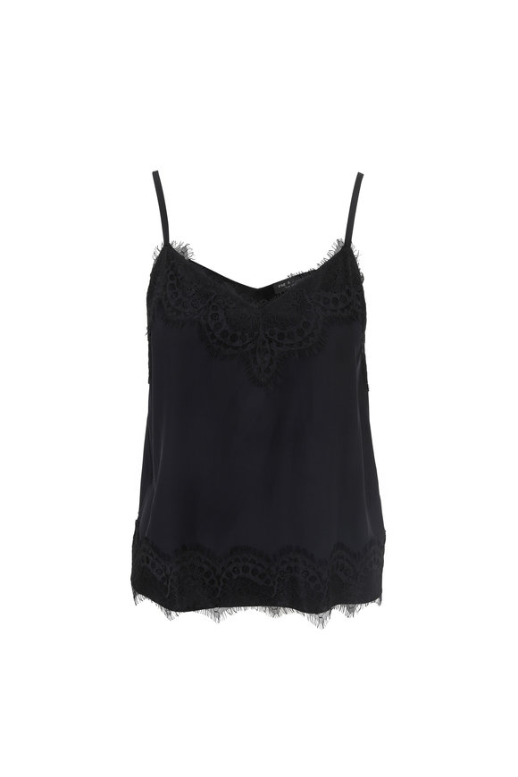Rag & Bone Wells Black Silk Cami