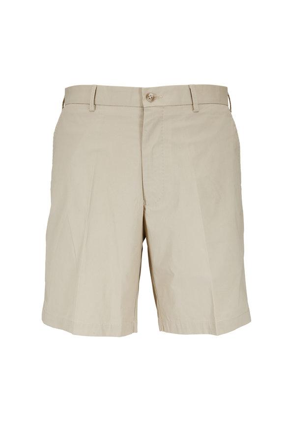 Peter Millar Khaki Crown Comfort Shorts
