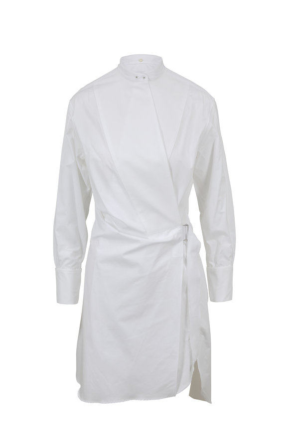 Rag & Bone White Wrap Tux Dress
