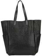 B May Bags - Black Washed Lamb Extra Large Tote