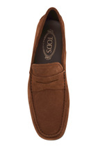 Tod's - Gommini Brown Suede Driver