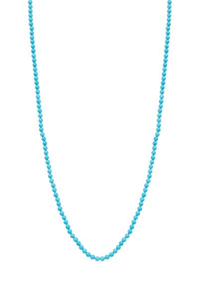 Caroline Ellen - Turquoise Bead Necklace