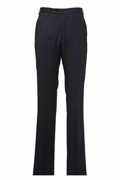 Incotex - Peter Black Wool Twill Trousers