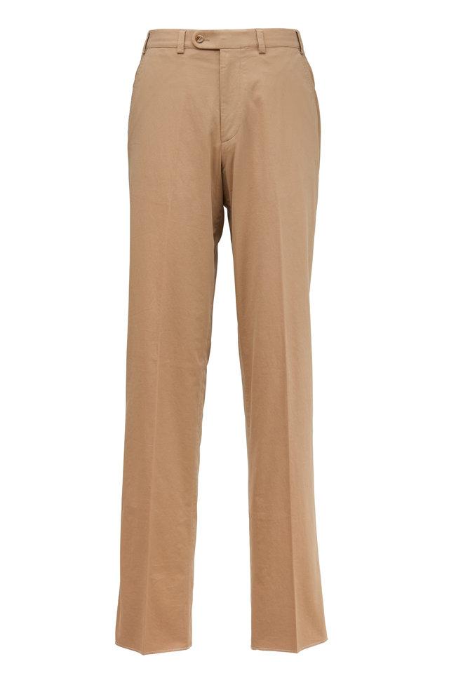 Napa Taupe Cotton Pants