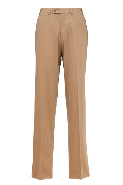 Hiltl - Napa Taupe Cotton Pants