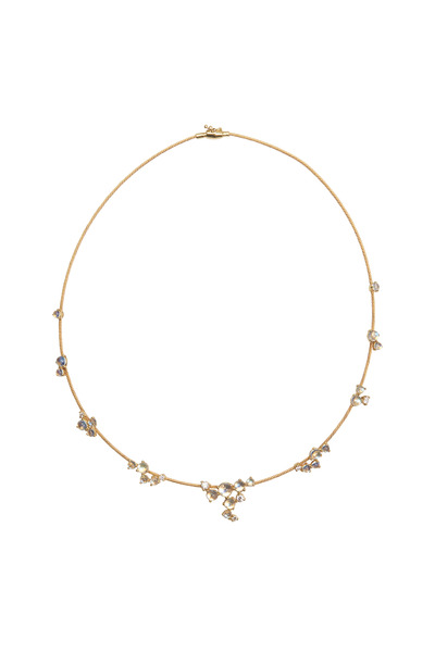 Paul Morelli - 18K Yellow Gold Moonstone & Diamond Necklace